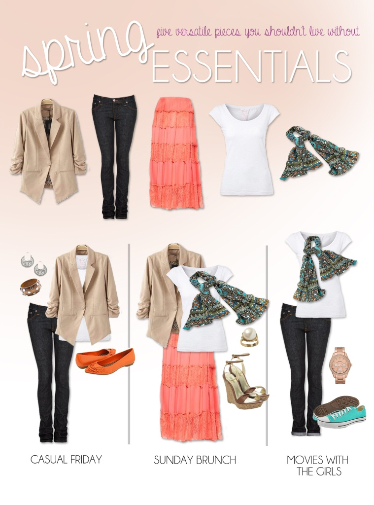 Must-Have Versatile Spring Essentials