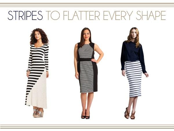 Stripes To Flatter Every Shape