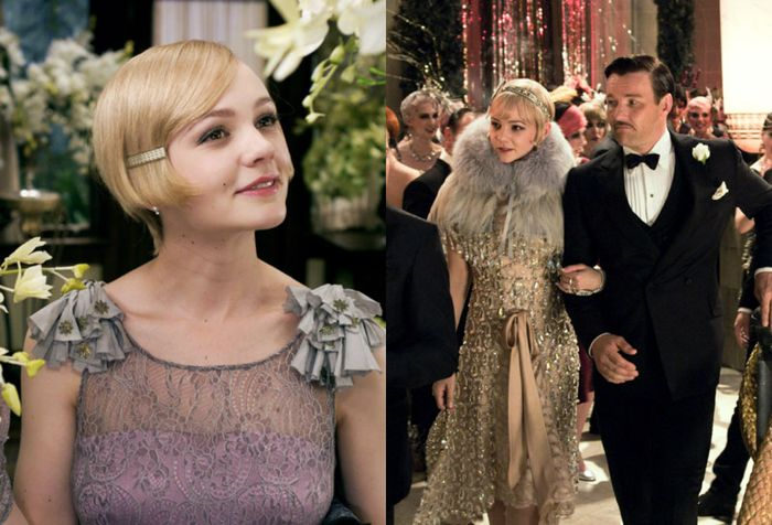 1920s fashion in this image of the Great Gatsby