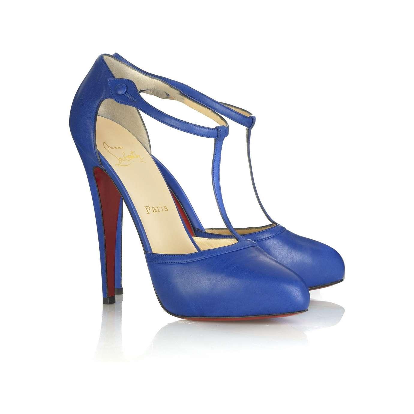 T-bar heel iconic shoe