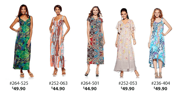Maxi dresses for the daytime