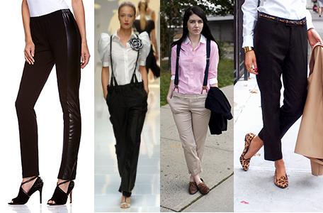 Slimmer-Cut Dress Pants Antthony Originals