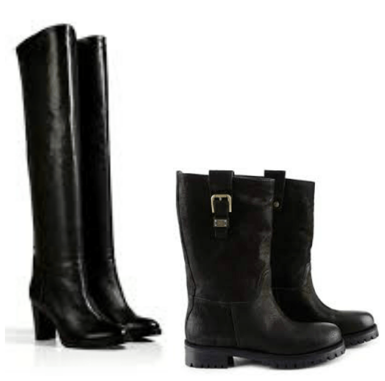 Sole Biker Boots and Over The Knee Thigh High