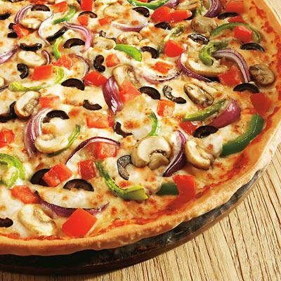 Crispy Veggie Lovers Pizza