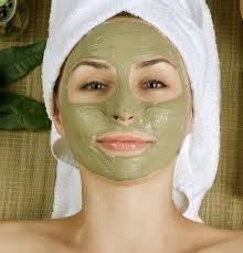 DIY facial mask at home