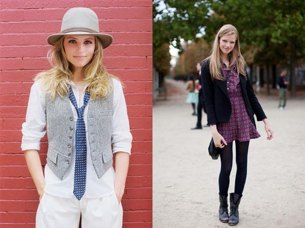 Cool Fashionista menswear inspired style