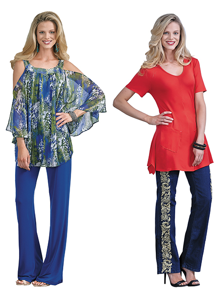 tunic sizes for slimmer look