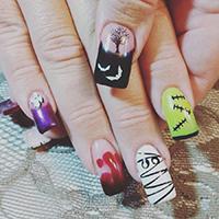 halloween-manicure