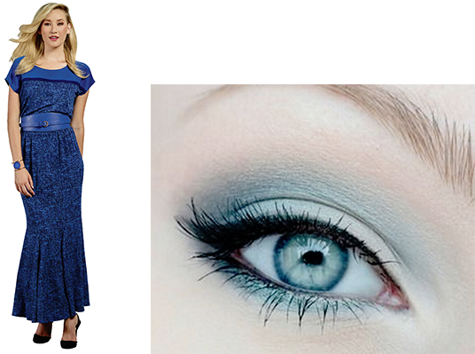 vibrant-blue-dress-blue-makeup