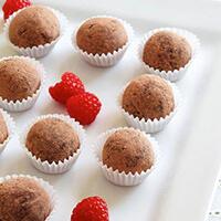 raspberry-truffles
