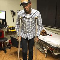 antthony skateboard injury
