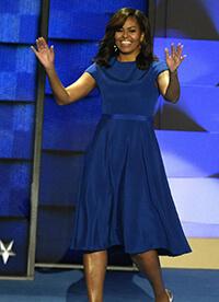 michelle-obama-blue-dress